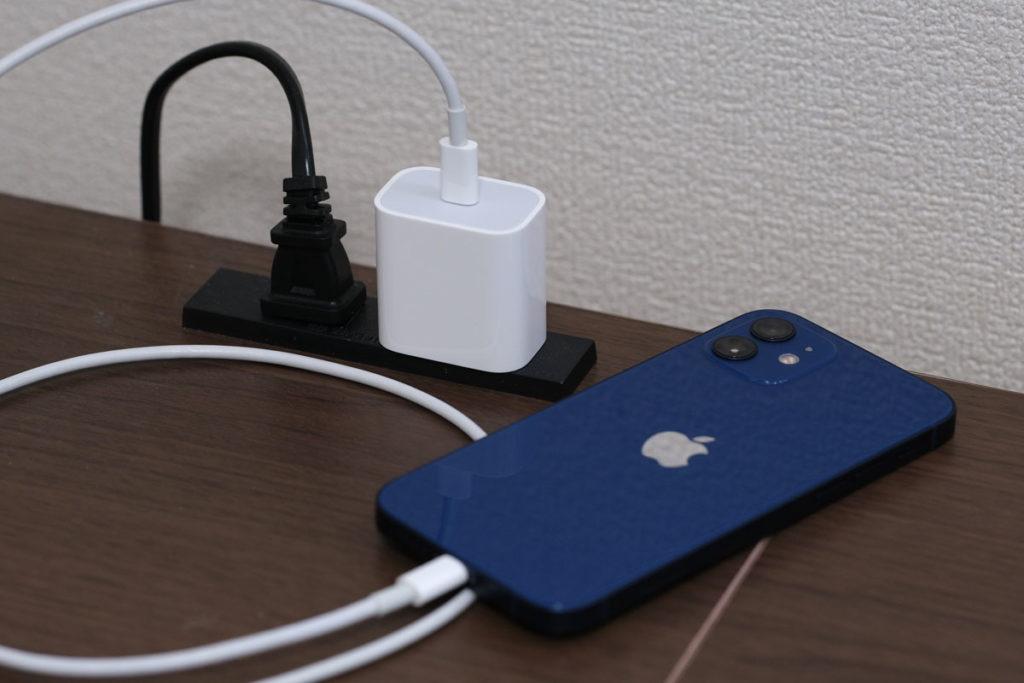 Apple 20W USB-C電源アダプタでiPhone12を充電する