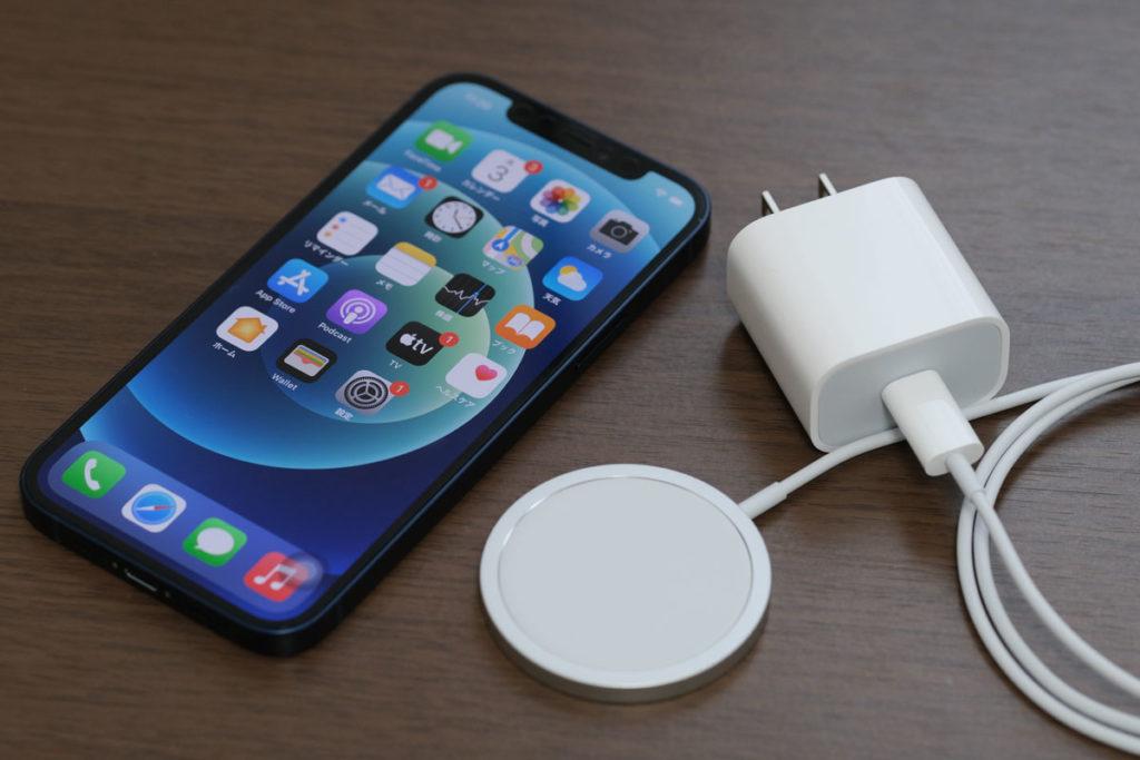 MagSafe充電器とApple 20W USB-C電源アダプタ