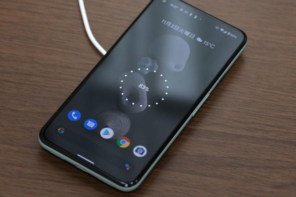 Pixel 5とMagSafe充電器