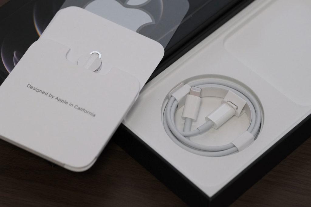 iPhone 12 Pro Maxの同梱品