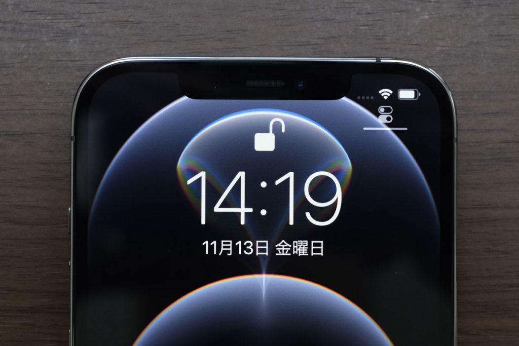 iPhone 12 Pro MaxのFace ID