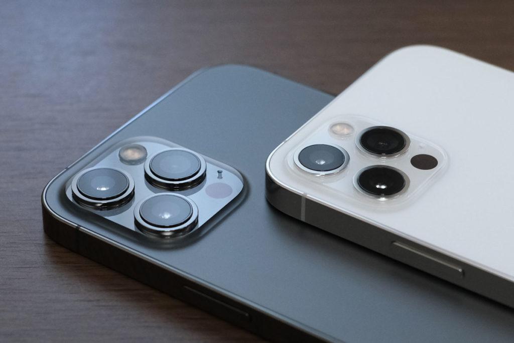 iPhone 12 Pro Max・12 Proのリアカメラ