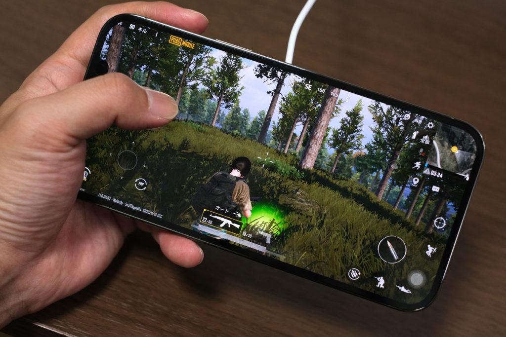 iPhone 12 Pro Maxでゲーム
