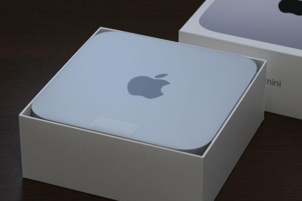 Mac miniのパッケージ