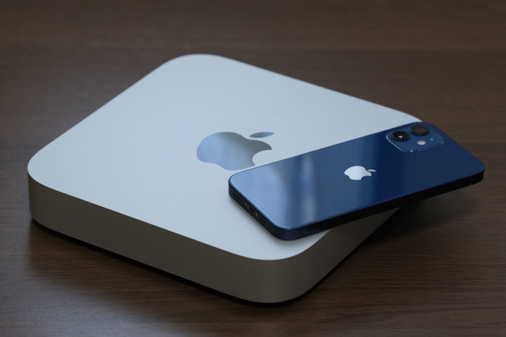 Mac miniのサイズ感