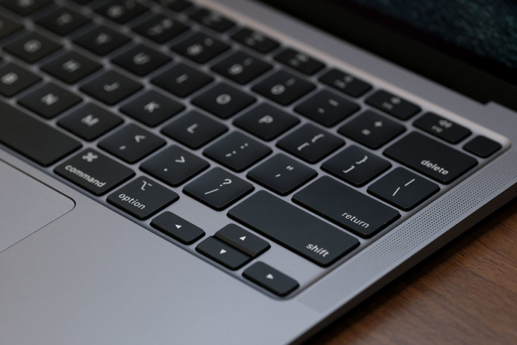 MacBook AirのMagic Keyboard