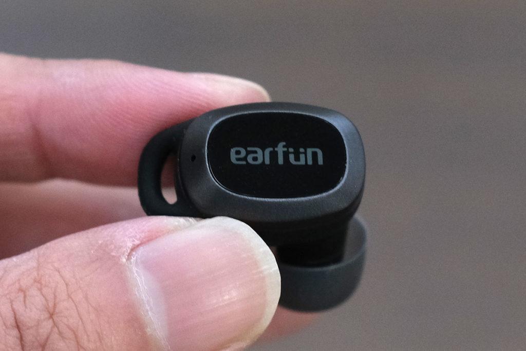 EarFun Free Pro タッチセンサー