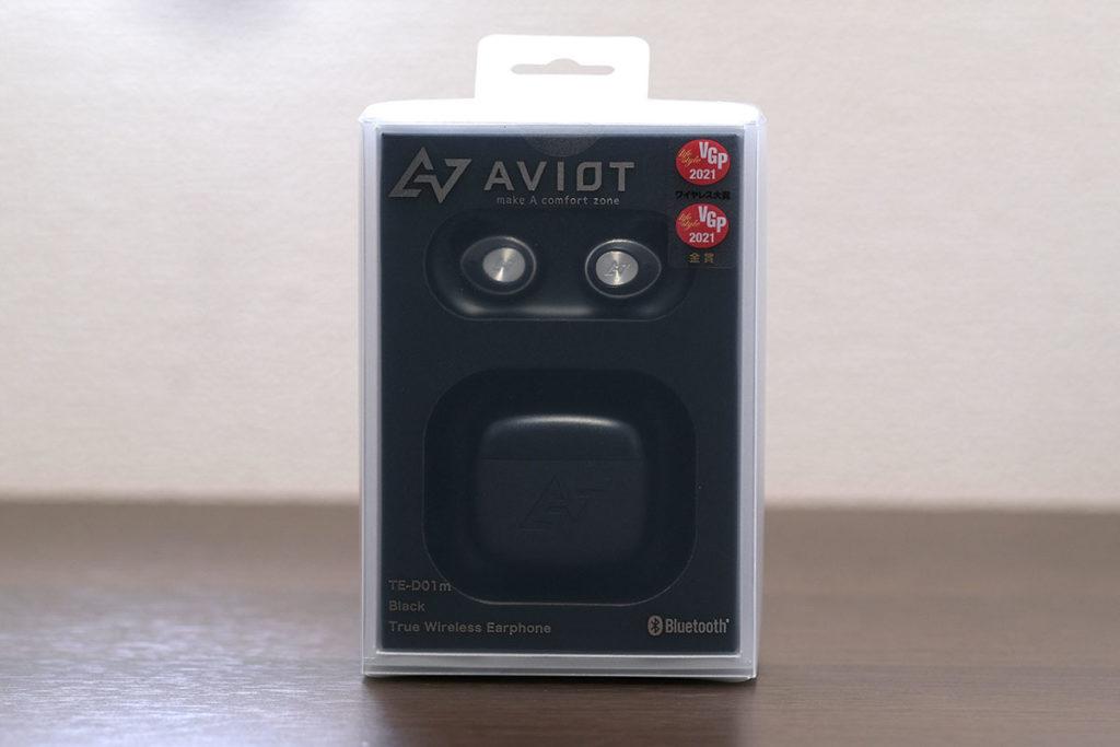 AVIOT TE-D01m パッケージデザイン