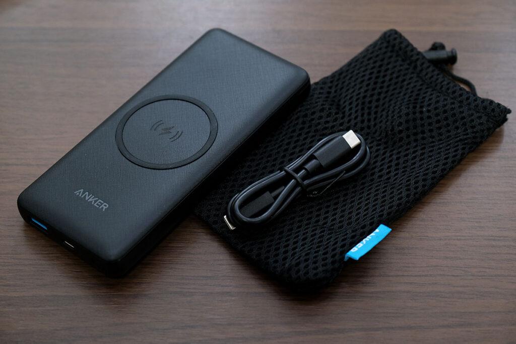 Anker PowerCore III 10000 Wireless 付属品