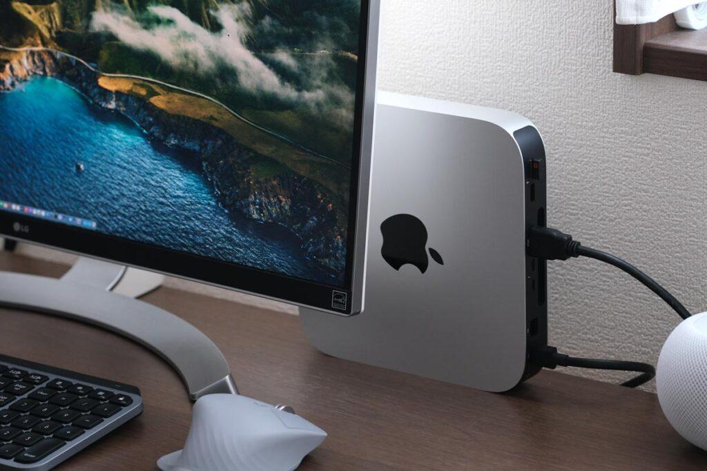 Mac miniの縦置き設置方法