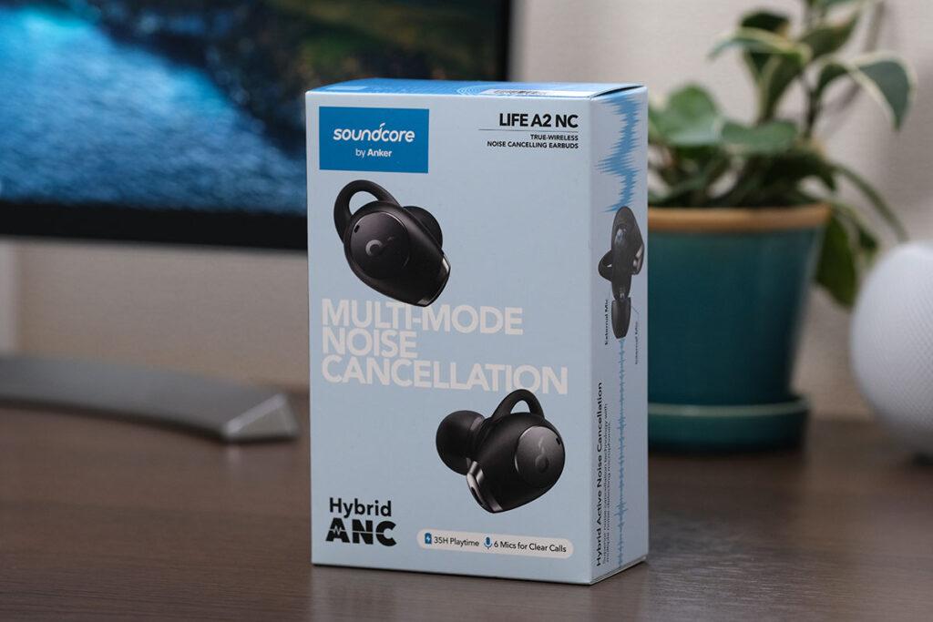 Soundcore Life A2 NC パッケージデザイン