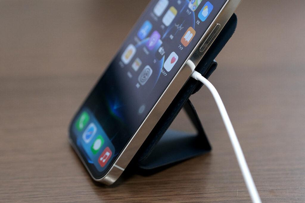 充電しながらiPhoneを使える