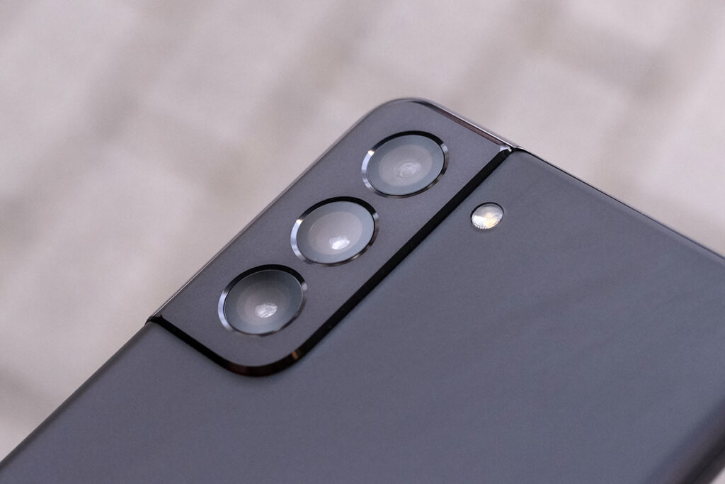 Galaxy S21 リアカメラのデザイン