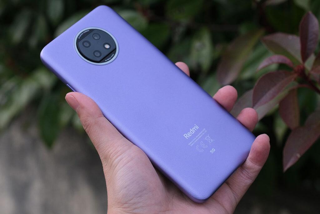 Redmi Note 9T 5G 背面デザイン
