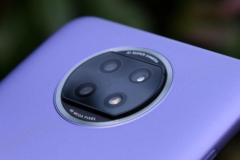 Redmi Note 9T 5G トリプルカメラ