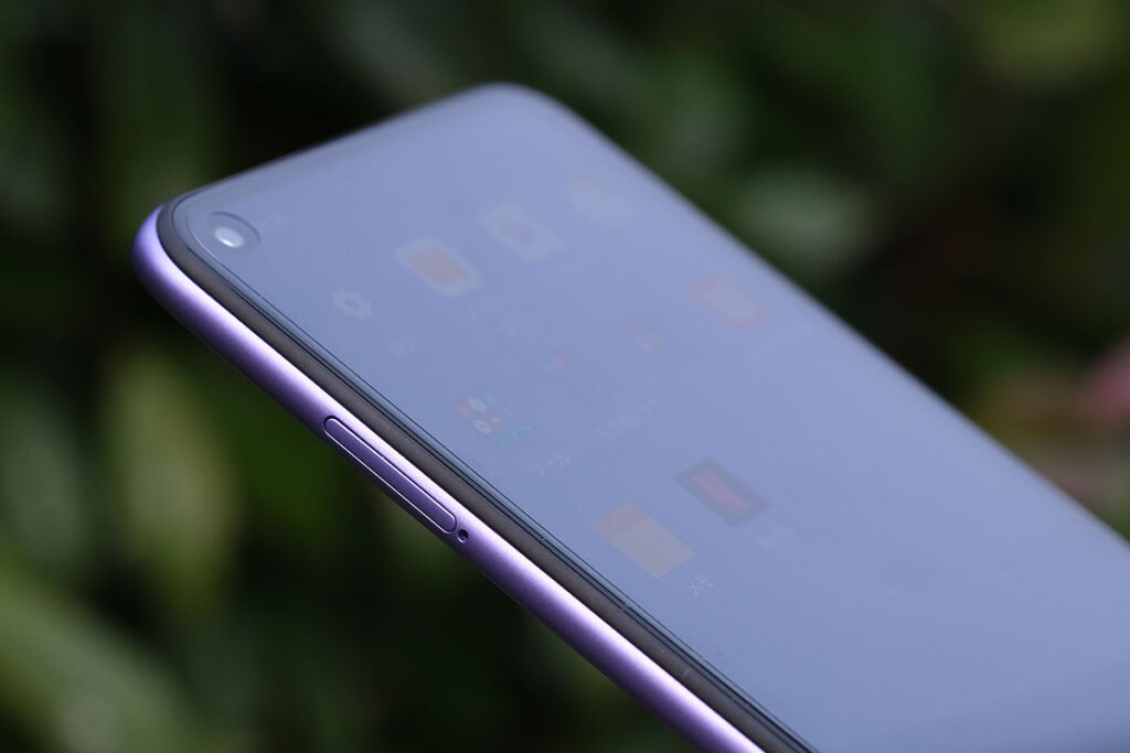 Redmi Note 9T 5G SIMカードスロット