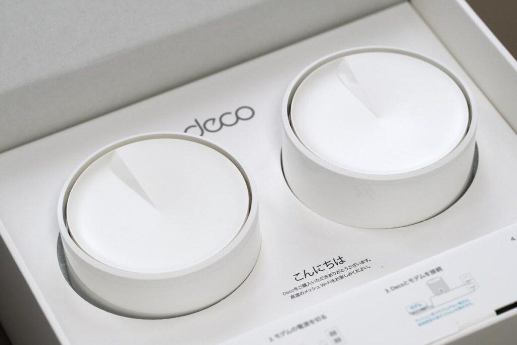 TP-Link Deco X60 梱包状態