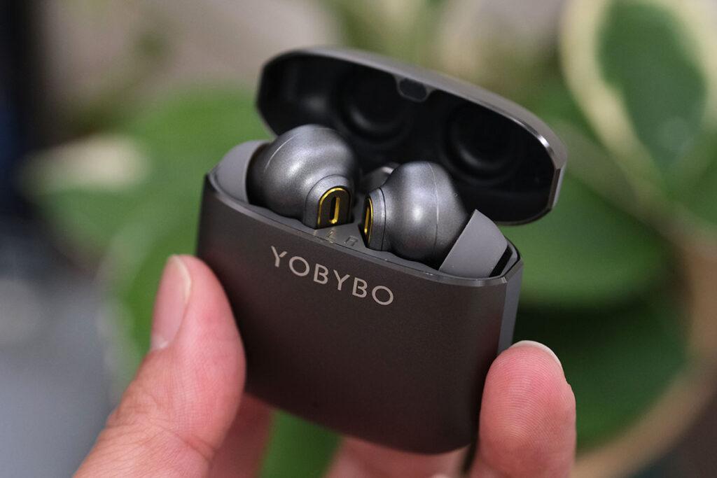 YOBYBO ZIP20 イヤホン収納状態