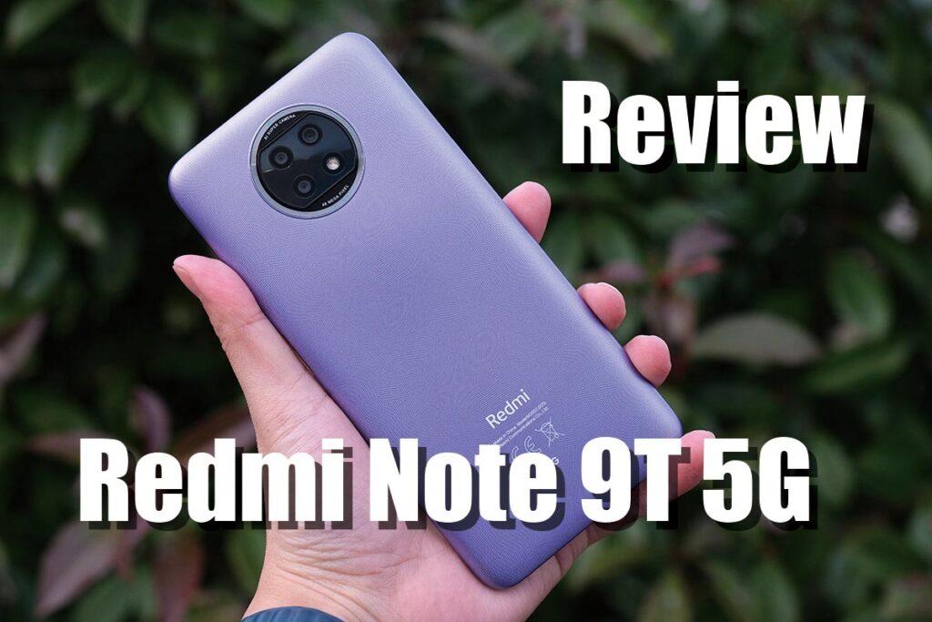 Redmi Note 9T 5G レビュー