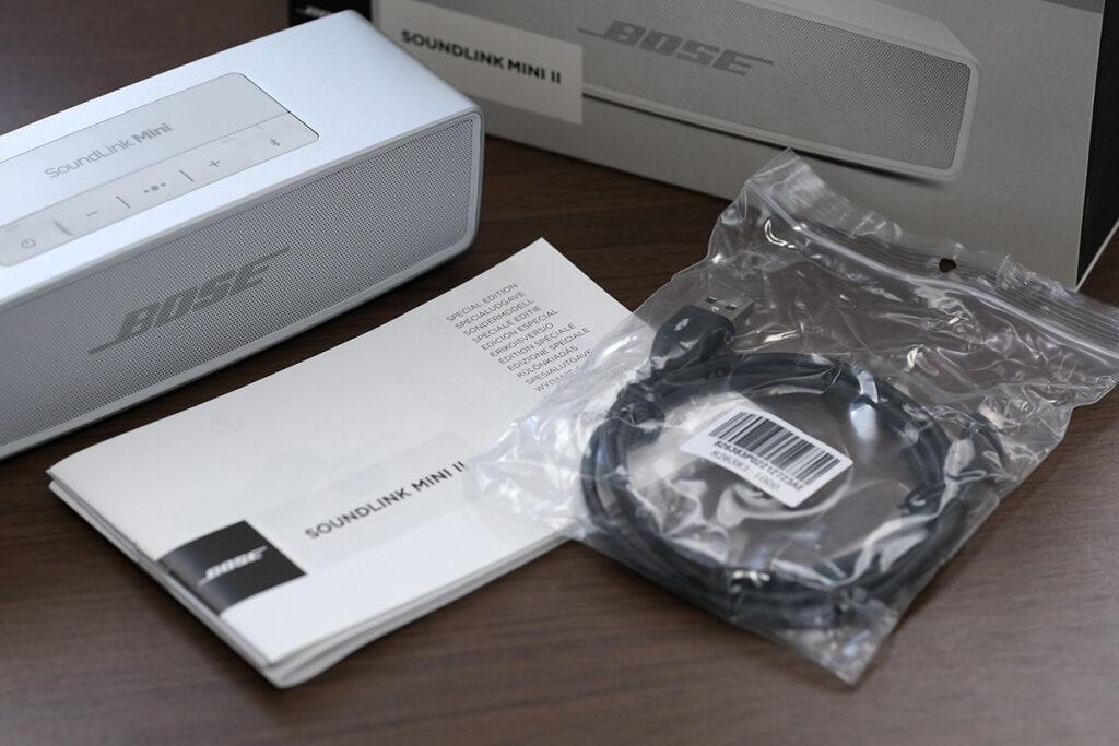 Bose SoundLink Mini II 付属品