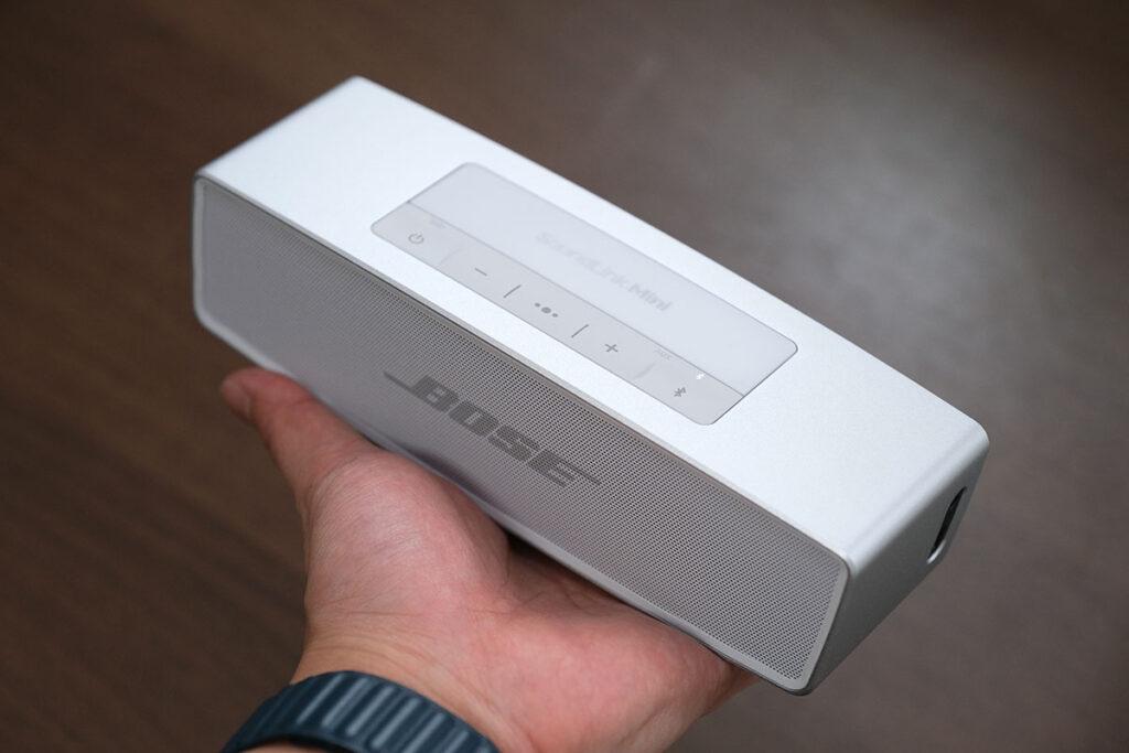 Bose SoundLink Mini IIのサイズ感