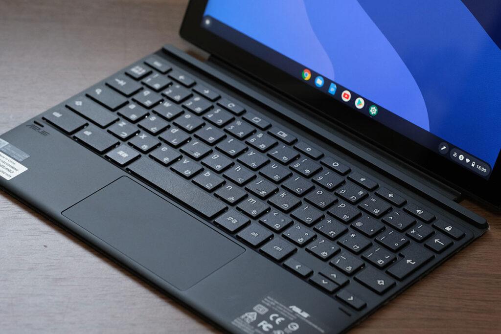 Chromebook Detachable CM3 付属のキーボード