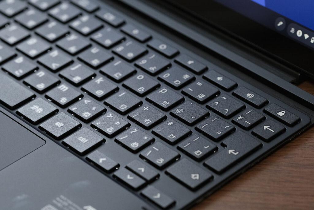 Chromebook Detachable CM3 キー形状