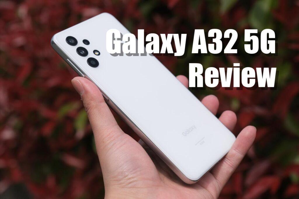 Galaxy A32 レビュー