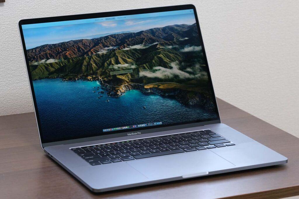 MacBook Pro 16インチ(Intel)