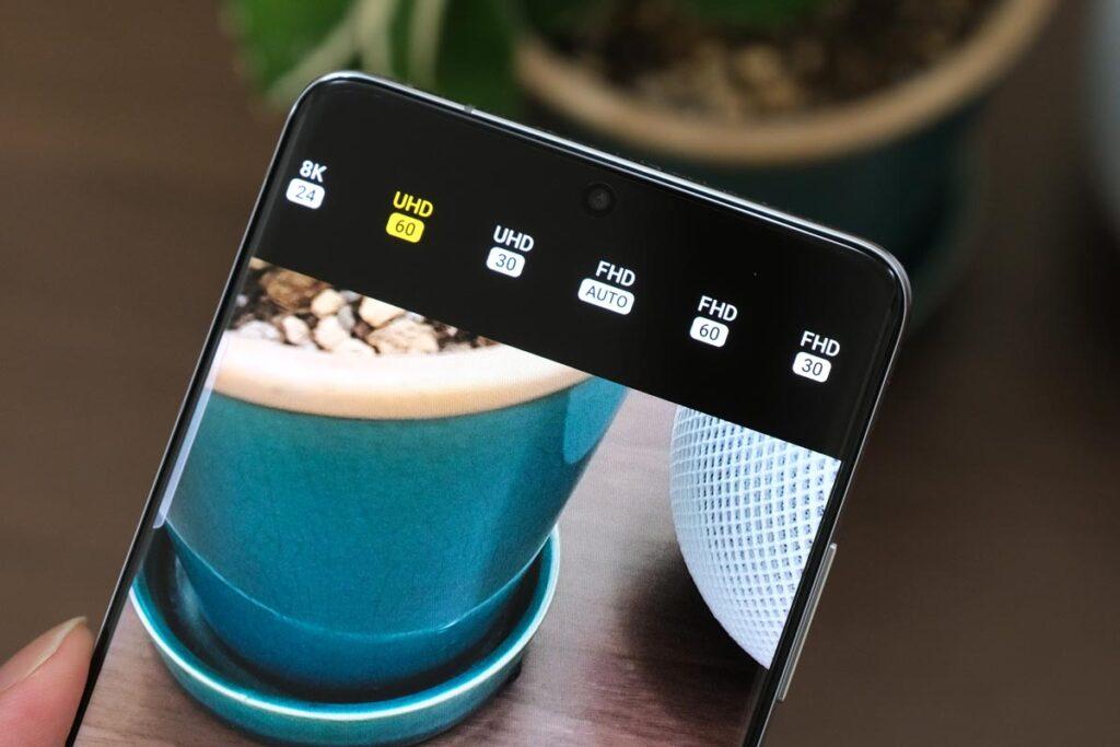 Galaxy S21 Ultra 動画解像度
