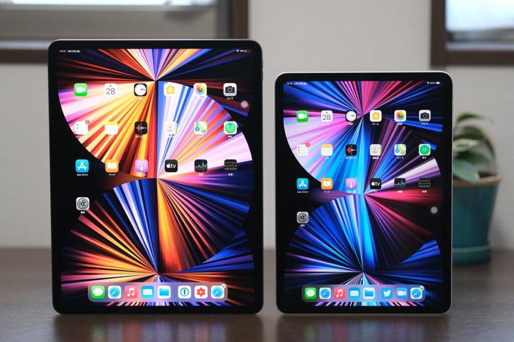 iPad Pro 12.9インチと11インチの本体サイズの違い