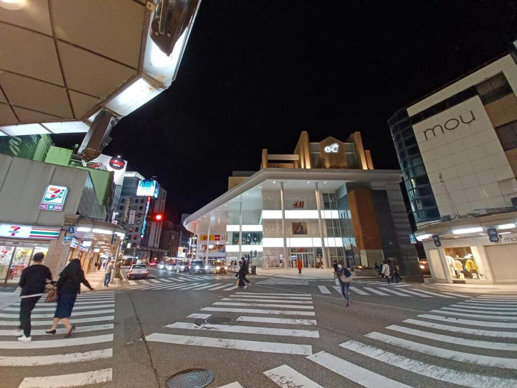 Galaxy A32 5G 超広角カメラ 夜間撮影