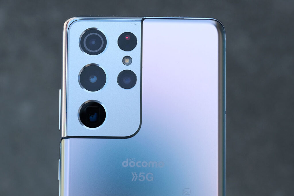 Galaxy S21 Ultra リアカメラ