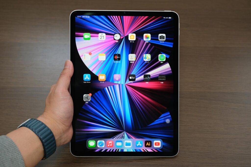 iPad Pro 11インチ(第3世代)のディスプレイ