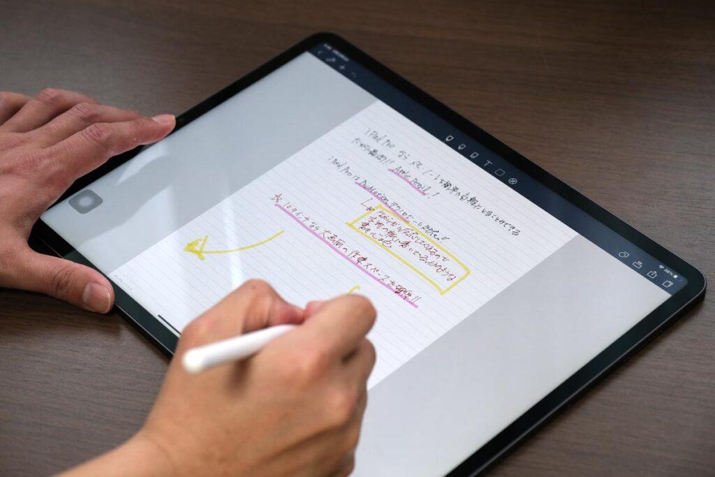 iPad Pro 12.9インチ(第5世代)とApple Pencil