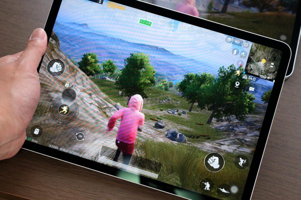iPad Pro 11インチ(第3世代)でPUBGモバイル