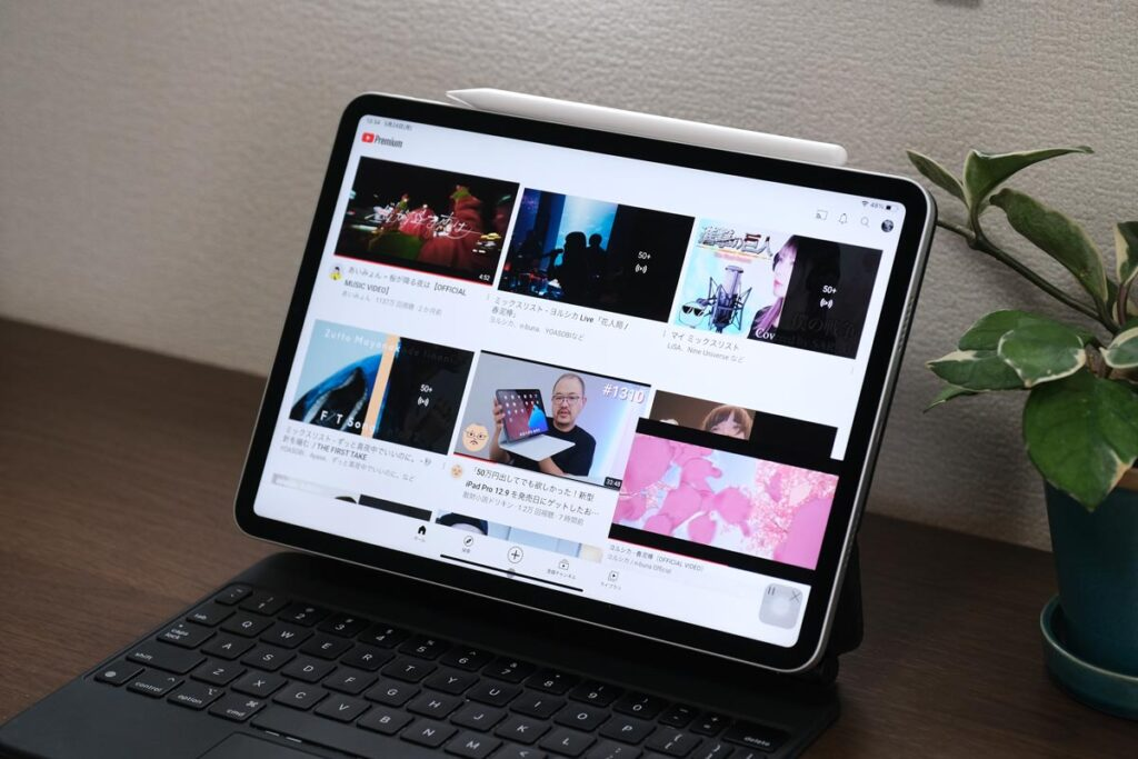 iPad Pro 11インチ(第3世代)で音楽を楽しむ