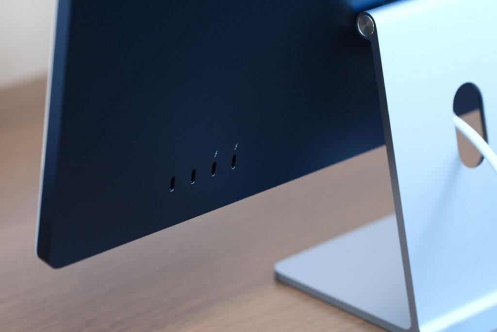 iMac 24インチ USB-Cポート