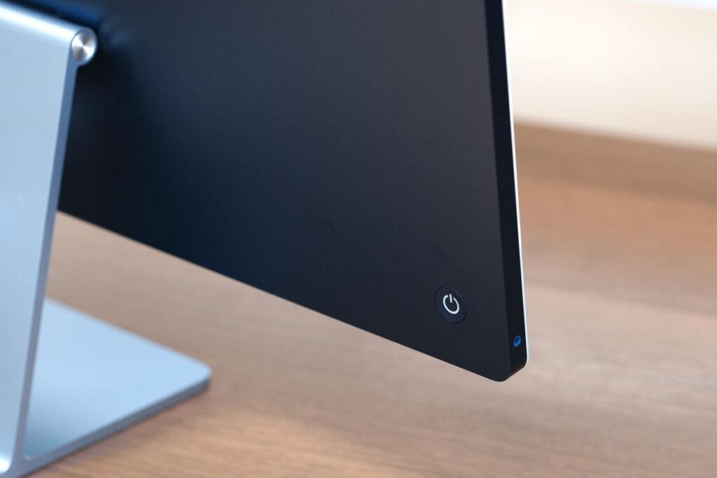 iMac 24インチ 電源ボタン