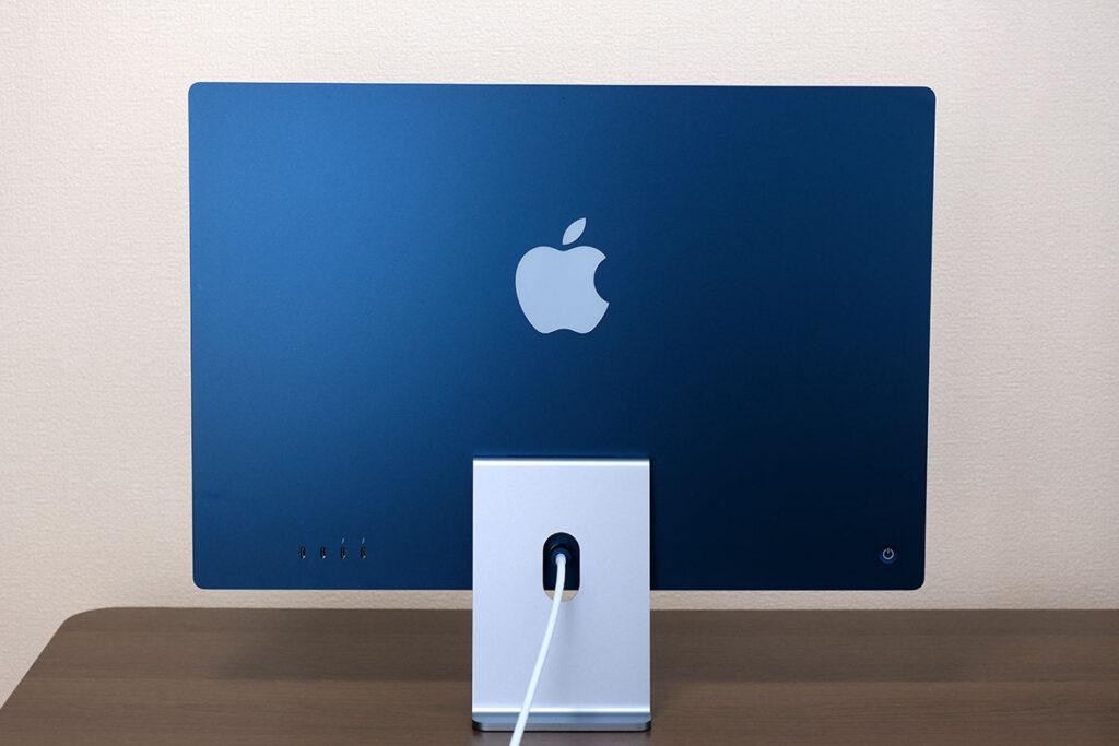 iMac 24インチ 背面デザイン