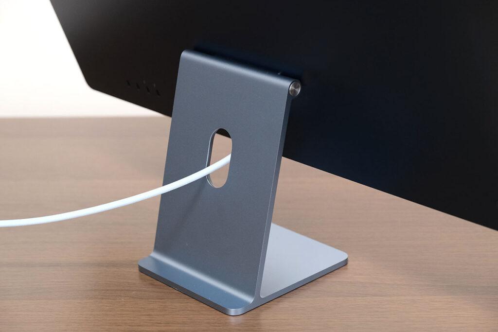 iMac 24インチのスタンド部分(背面)