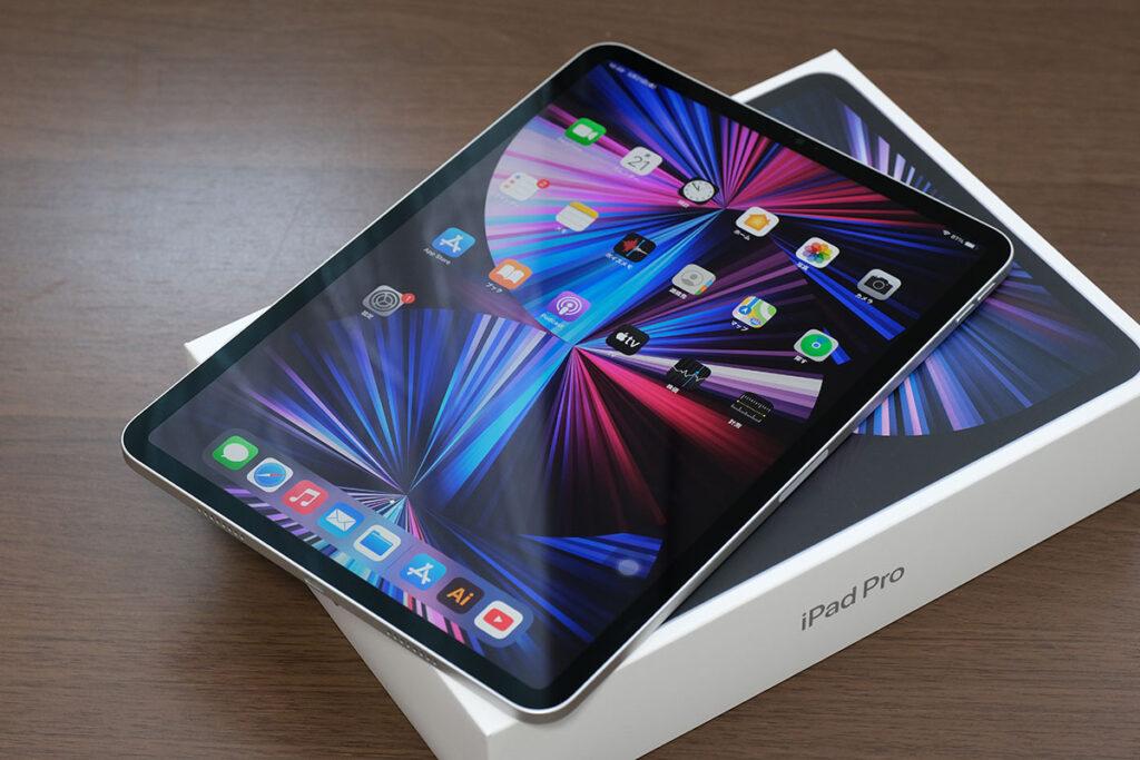 iPad Pro 11インチ(第3世代)正面デザイン