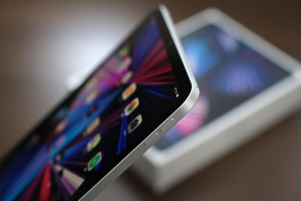 iPad Pro 11インチ(第3世代)操作ボタン
