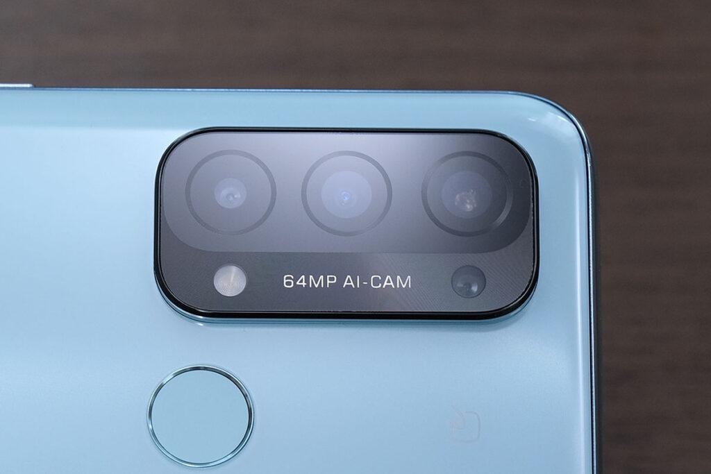 OPPO Reno 5A リアカメラ
