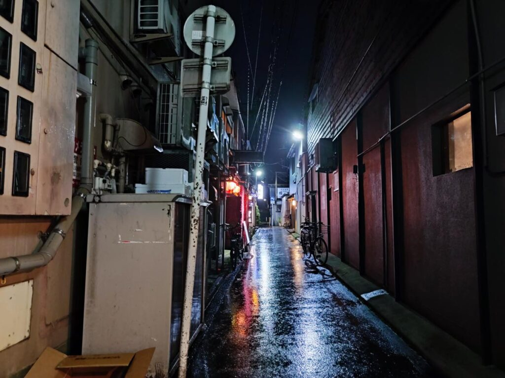 Mi 11 Lite 5G 夜間撮影