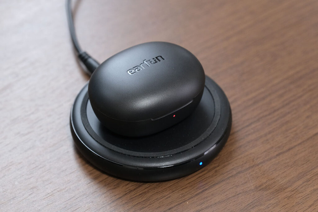 EarFun Air Pro 2 ワイヤレス充電に対応
