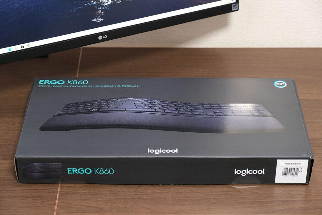 Logicool ERGO K860 パッケージ