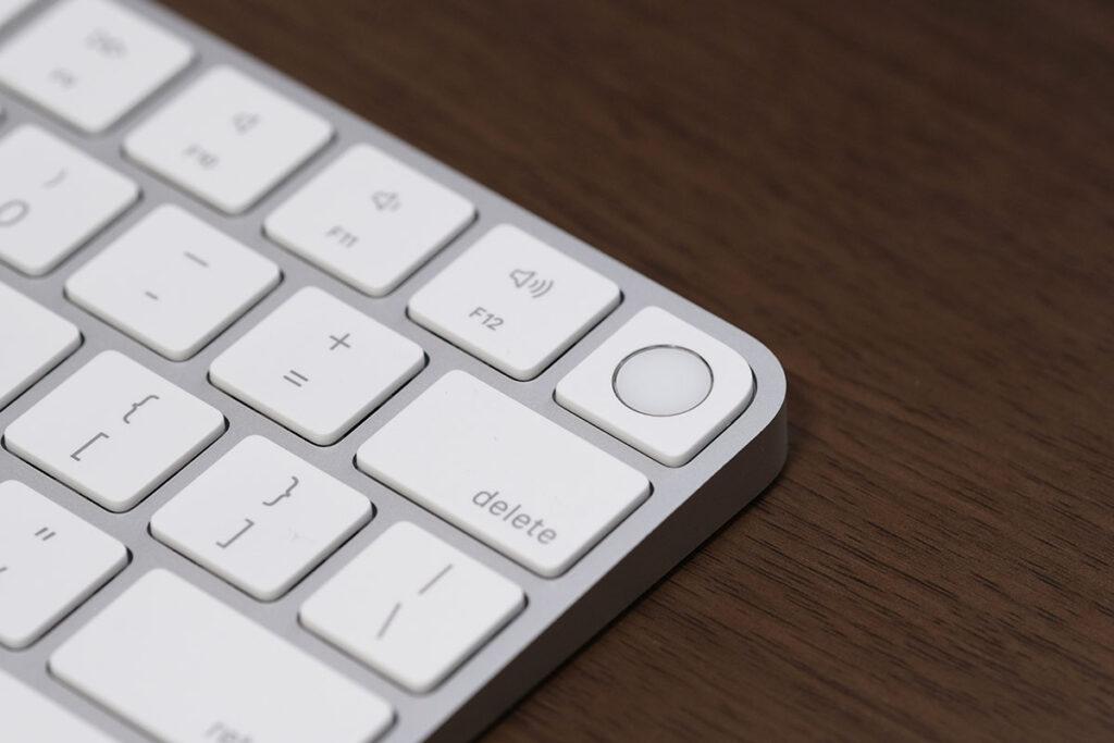 Magic KeyboardのTouch ID