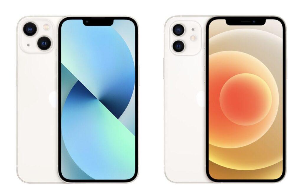 iPhone 13とiPhone 12