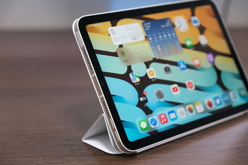 iPad mini(第6世代)左側のスピーカー